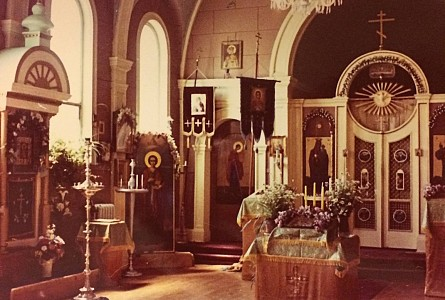 St. Panteleimon Church - 1960