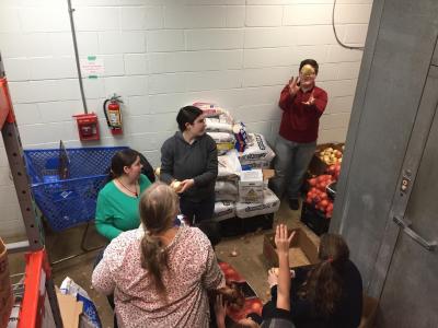 Volunteering at the Kalamazoo Gospel Mission