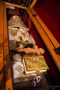 St. Mardarije relics at St. Savva Monastery