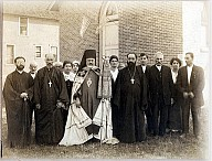Consecration of the church, 1911