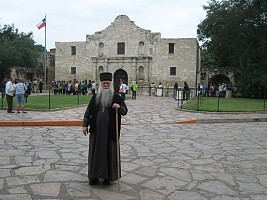 At the Alamo (San Antonio)