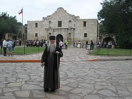 At the Alamo (San Antonio)