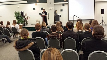 Presentation:  Nicholas Kotar and his excitement dealing with Mission Trips abroad.