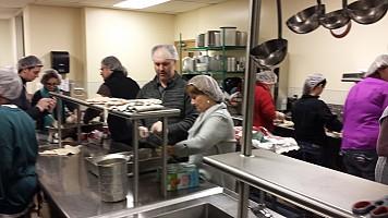 Volunteering at Rockford Rescue Mission
