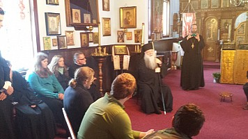 Discussion with the Bishop